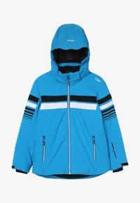 CMP - BOY JACKET SNAPS HOOD - Ski jacket - river - 3