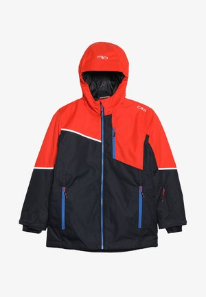 BOY JACKET FIX HOOD - Veste de ski - blue