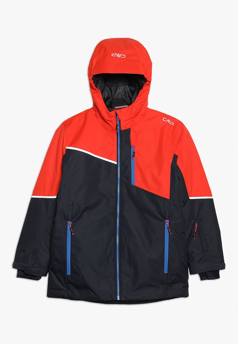 CMP - BOY JACKET FIX HOOD - Veste de ski - blue
