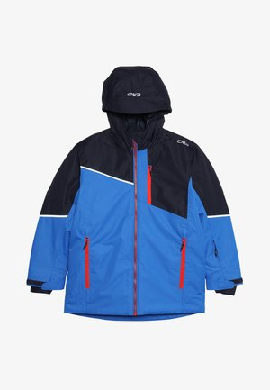 BOY JACKET FIX HOOD - Lyžařská bunda - royal