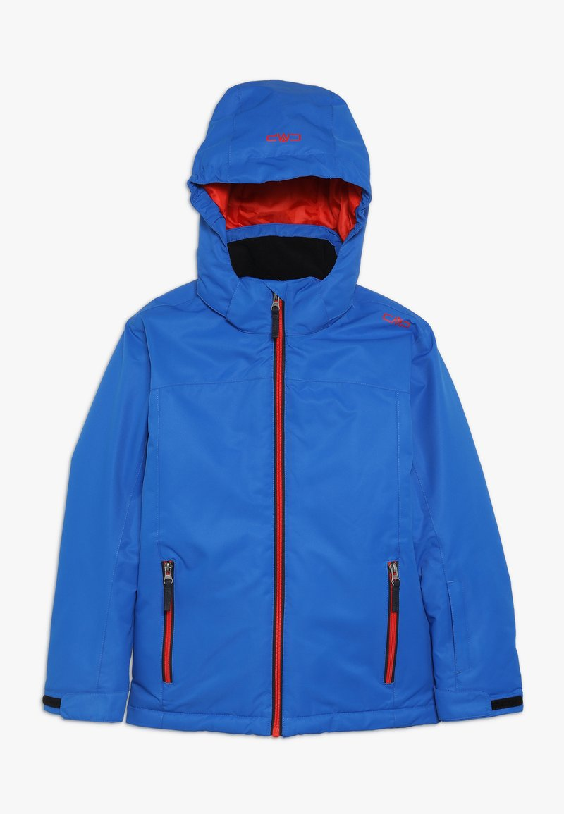 CMP - BOY JACKET SNAPS HOOD - Lyžařská bunda - royal