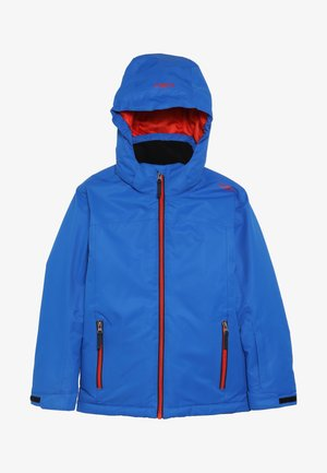 BOY JACKET SNAPS HOOD - Skidjacka - royal