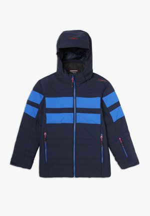 BOY JACKET SNAPS HOOD - Ski jas - royal tango