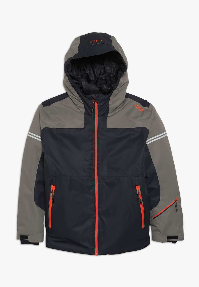 CMP - BOY JACKET FIX HOOD - Giacca da sci - antracite