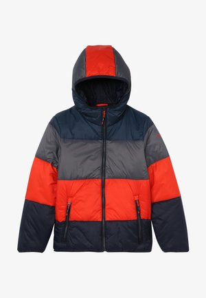 BOY JACKET FIX HOOD - Veste d'hiver - blue