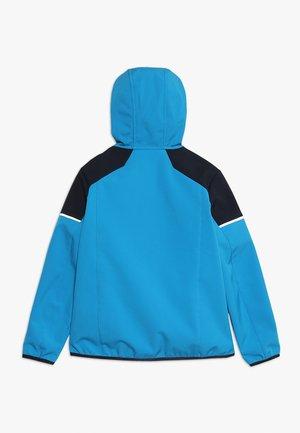 BOY JACKET FIX HOOD - Soft shell jacket - river