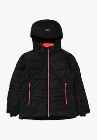 CMP - GIRL JACKET SNAPS HOOD - Ski jacket - nero - 0