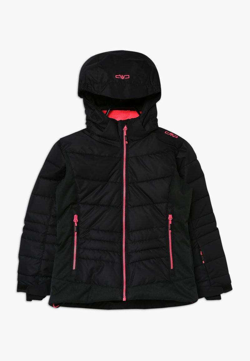 CMP - GIRL JACKET SNAPS HOOD - Ski jacket - nero