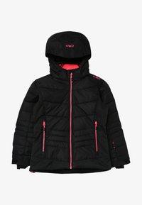 CMP - GIRL JACKET SNAPS HOOD - Ski jacket - nero - 3