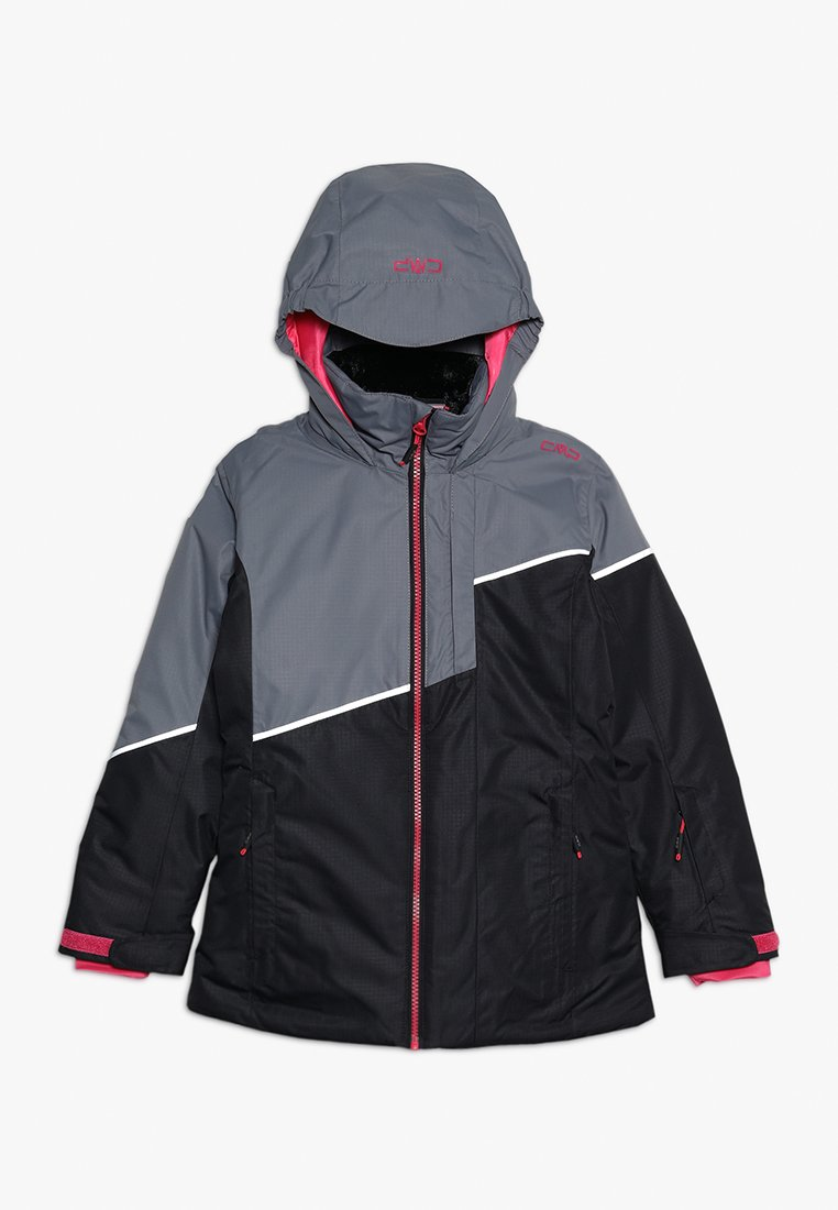 CMP - GIRL JACKET FIX HOOD - Ski jacket - nero