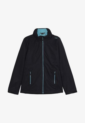 GIRL JACKET FIX HOOD 2-IN-1 - Giacca outdoor - blue