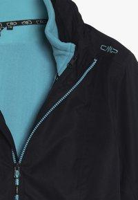 CMP - GIRL JACKET FIX HOOD 2-IN-1 - Outdoorjas - blue - 7