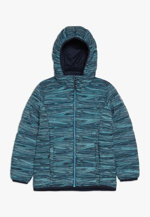 GIRL JACKET ZIP HOOD - Winterjas - blue/curacao/gesso