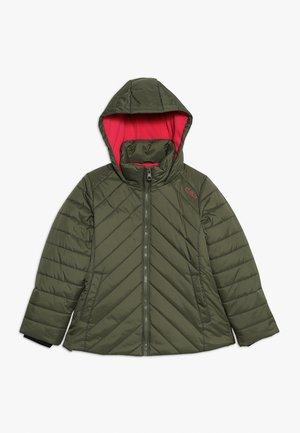 GIRL JACKET FIX HOOD - Winter jacket - loden