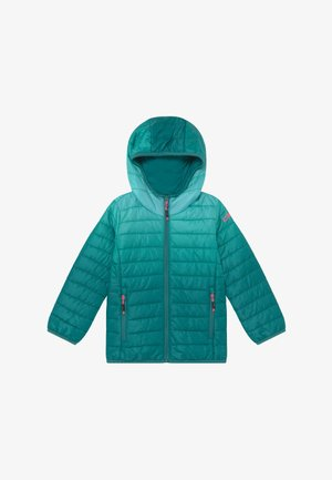 GIRL JACKET FIX HOOD - Winter jacket - lake