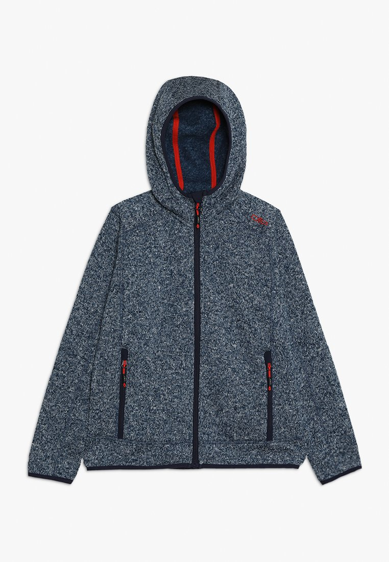 CMP - BOY JACKET FIX HOOD - Fleecejakke - inchiostro