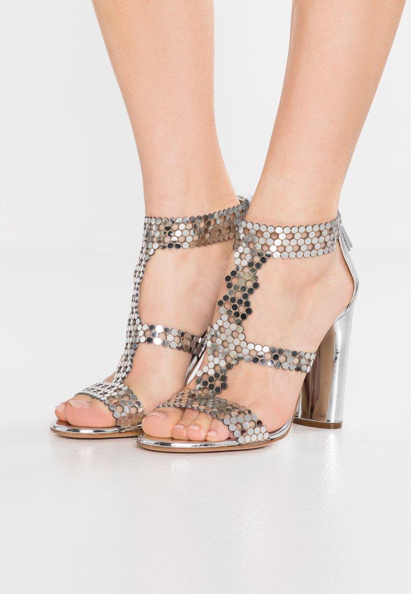 Casadei - High Heel Sandalette - argento