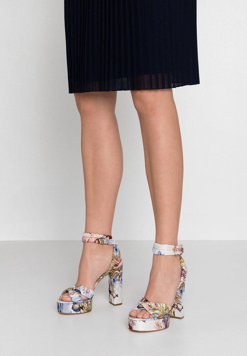Casadei - High Heel Sandalette - multicolor