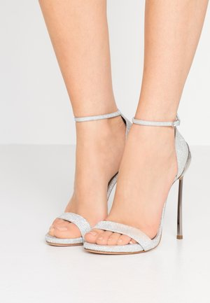 Sandály na vysokém podpatku - selene argento