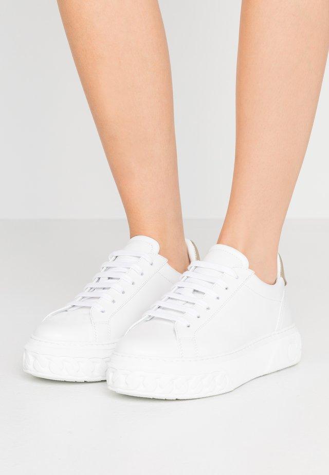 Tenisky - minorca bianco