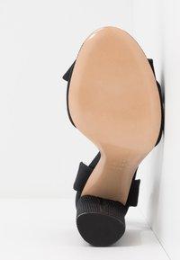 Casadei - Sandály na vysokém podpatku - canete nero - 6