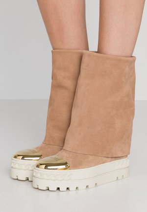 High heeled ankle boots - renna daphne/cult oro