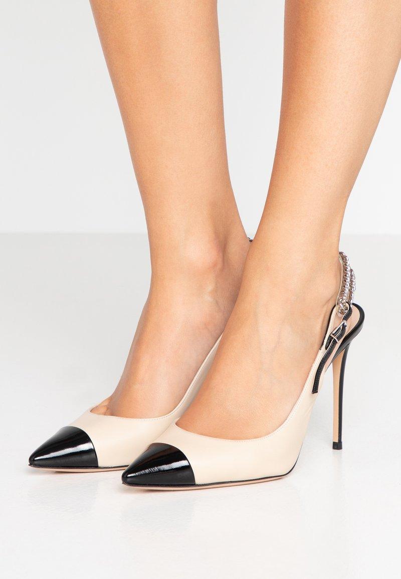 Casadei - High heels - nero/whiteoak