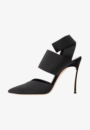 High heels - nero/oro