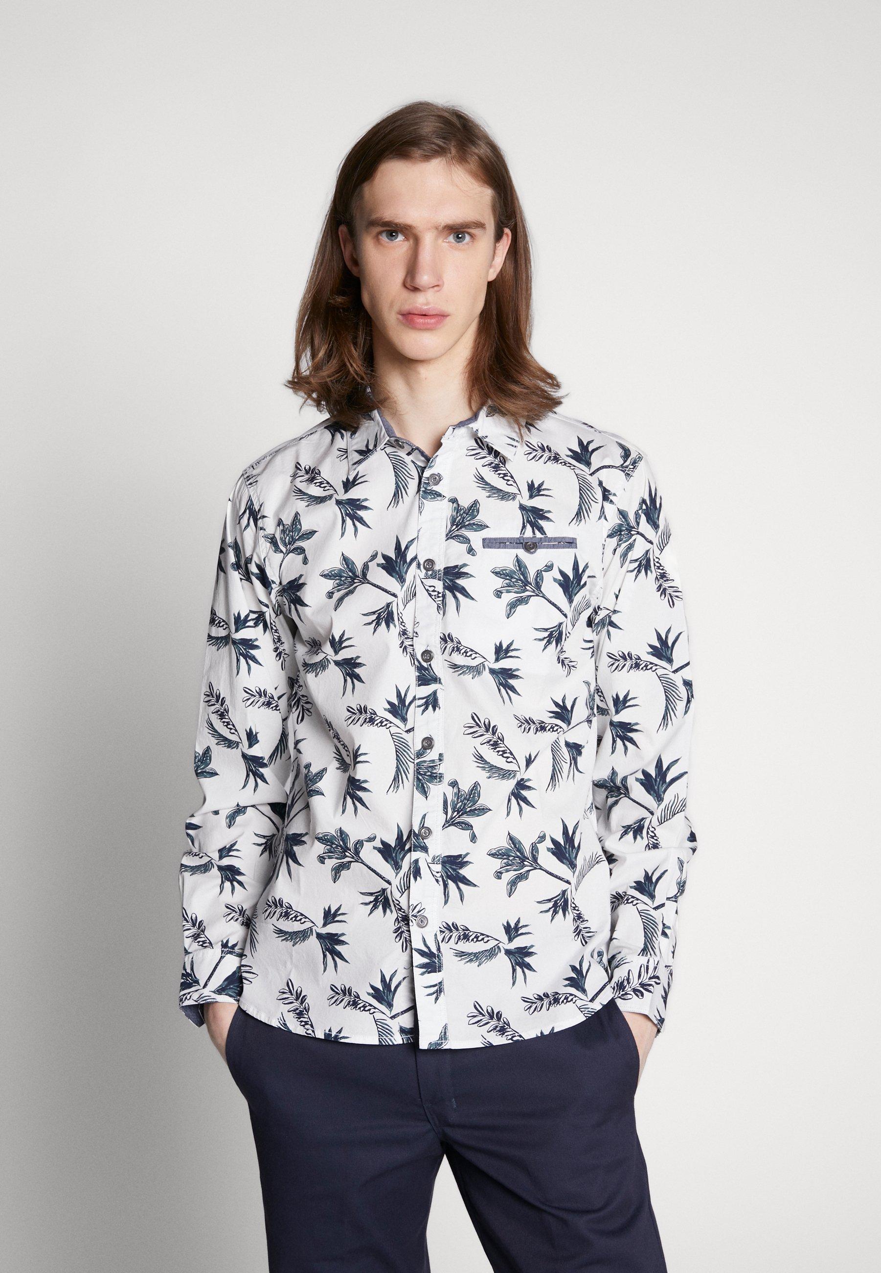 Cars Jeans HAWAII - Koszula - white
