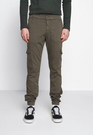 JEREZ - Cargo trousers - army