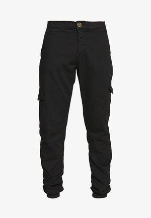 JEREZ - Pantalon cargo - black