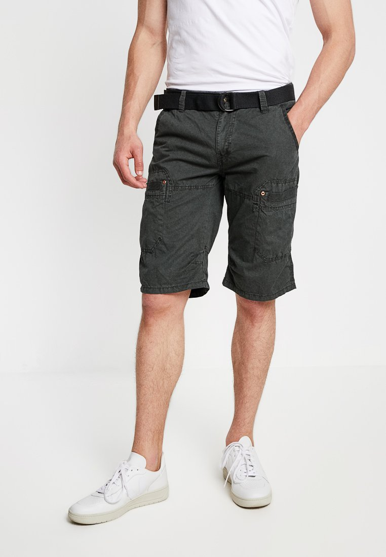 Cars Jeans - HANDLE - Shorts - anthracite