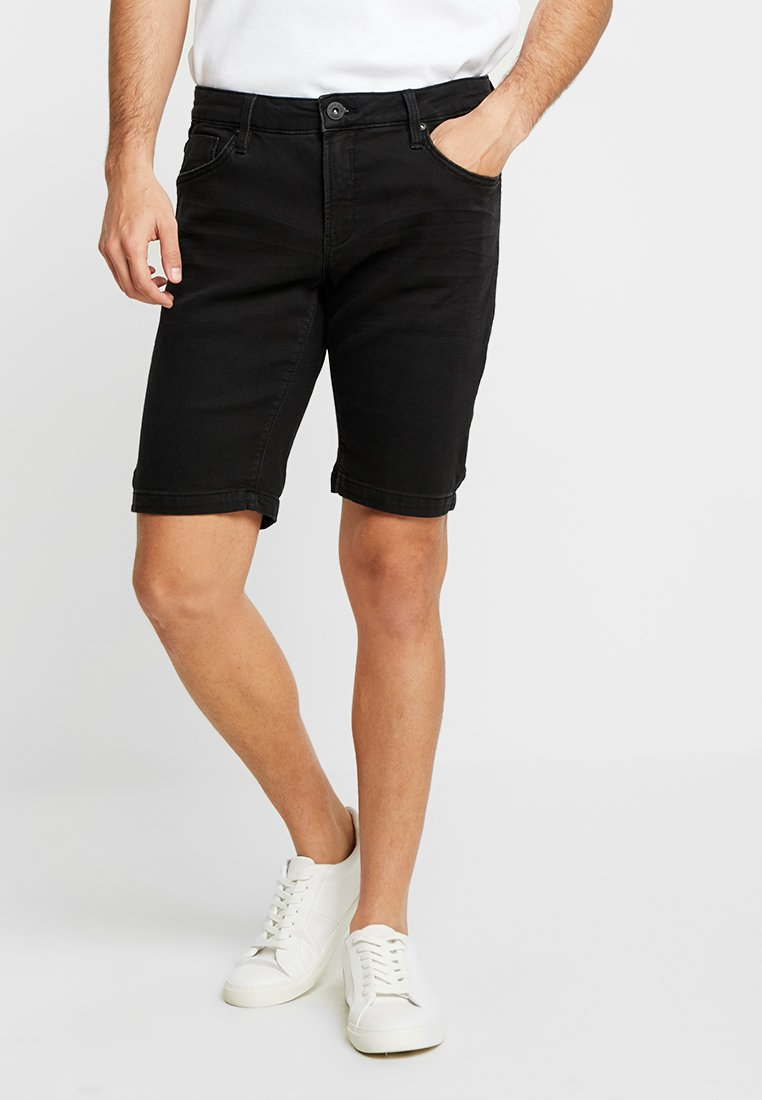 Cars Jeans - TUCKY - Jeans Shorts - black used