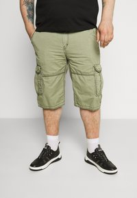Cars Jeans - DURRAS PLUS - Cargo trousers - olive - 0