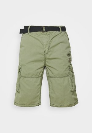 DURRAS PLUS - Cargo trousers - olive