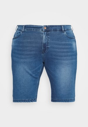 TUCKY PLUS - Shorts di jeans - used denim