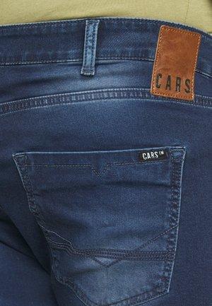 TUCKY PLUS - Denim shorts - dark used