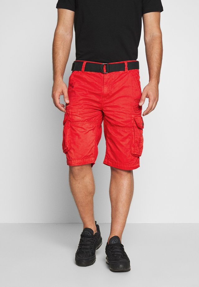 DURRAS - Shorts - red