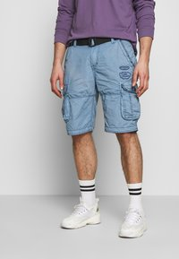 Cars Jeans - DURRAS - Shorts - grey blue - 0