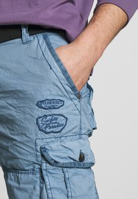 Cars Jeans - DURRAS - Shorts - grey blue - 4