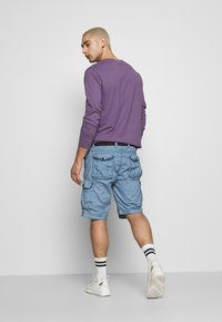 Cars Jeans - DURRAS - Shorts - grey blue - 2