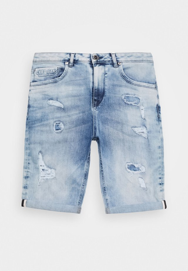 BECKER - Jeans Short / cowboy shorts - bleached used