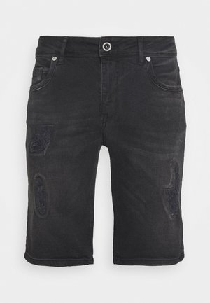 BECKER - Jeansshort - black used