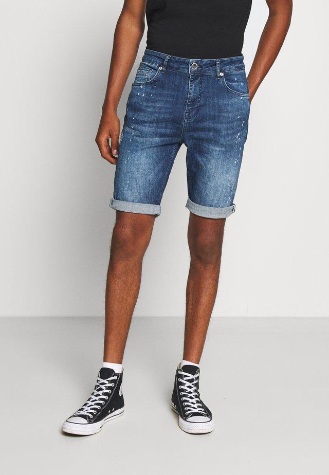 BARIS  - Denim shorts - blue denim