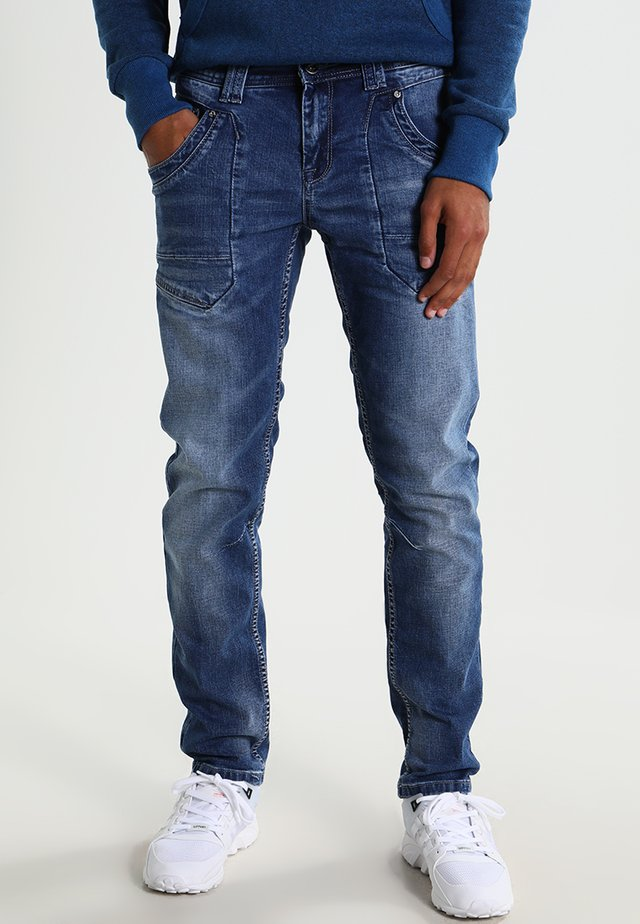 BEDFORD - Jeans Skinny Fit - stone used