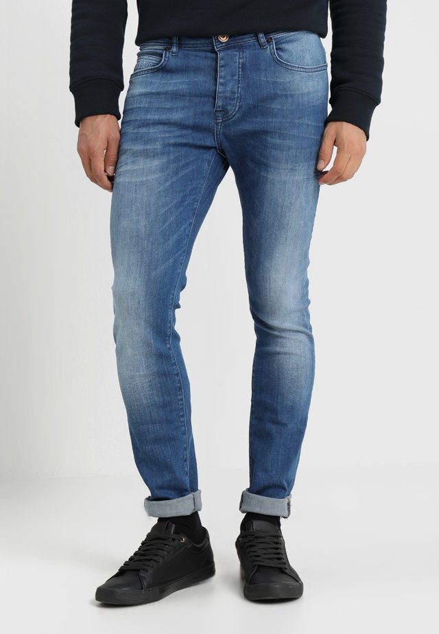 DUST - Jeansy Skinny Fit - 70s blue