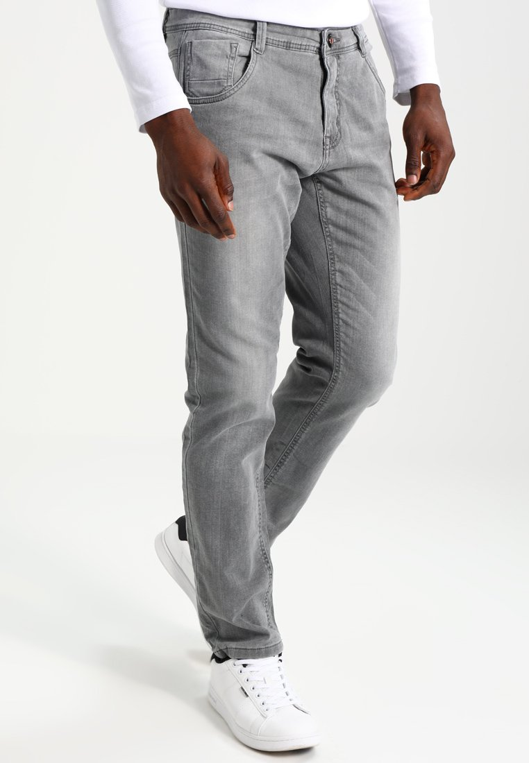 Cars Jeans PRINCE - Jeansy Straight Leg - grey used