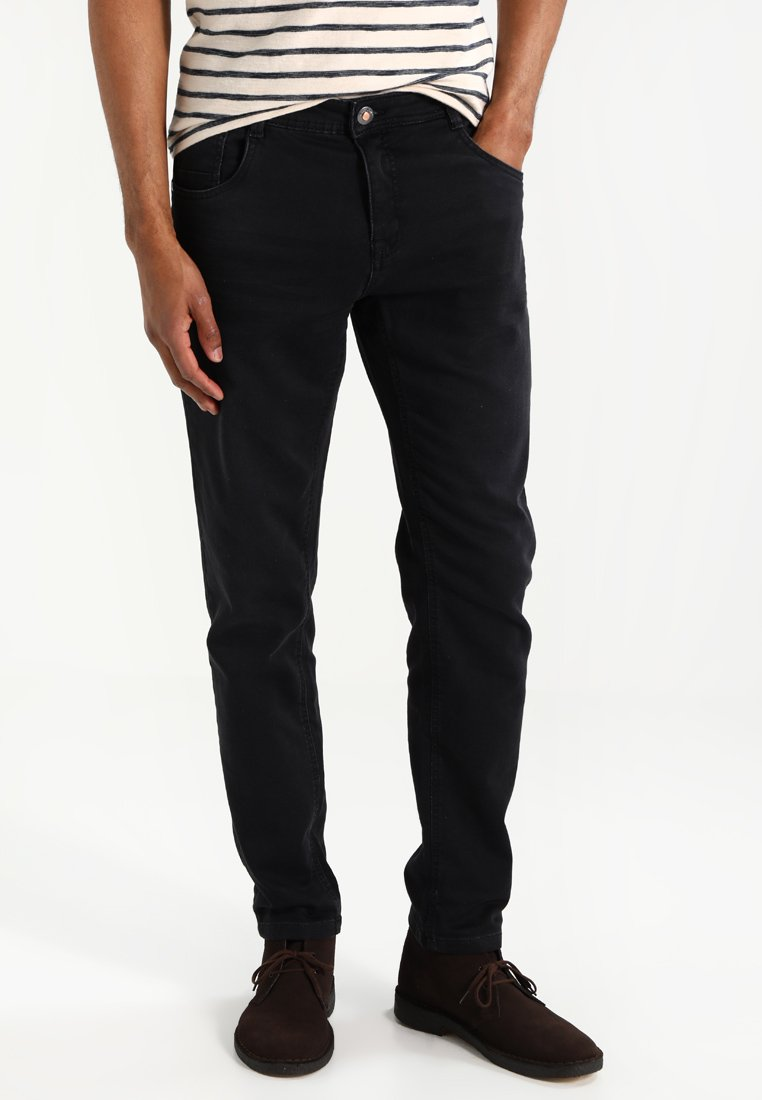 Cars Jeans - PRINCE - Straight leg jeans - black used