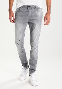 Cars Jeans - CAVIN - Slim fit jeans - grey used - 0
