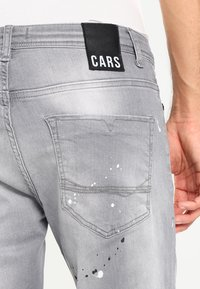Cars Jeans - CAVIN - Slim fit jeans - grey used - 4